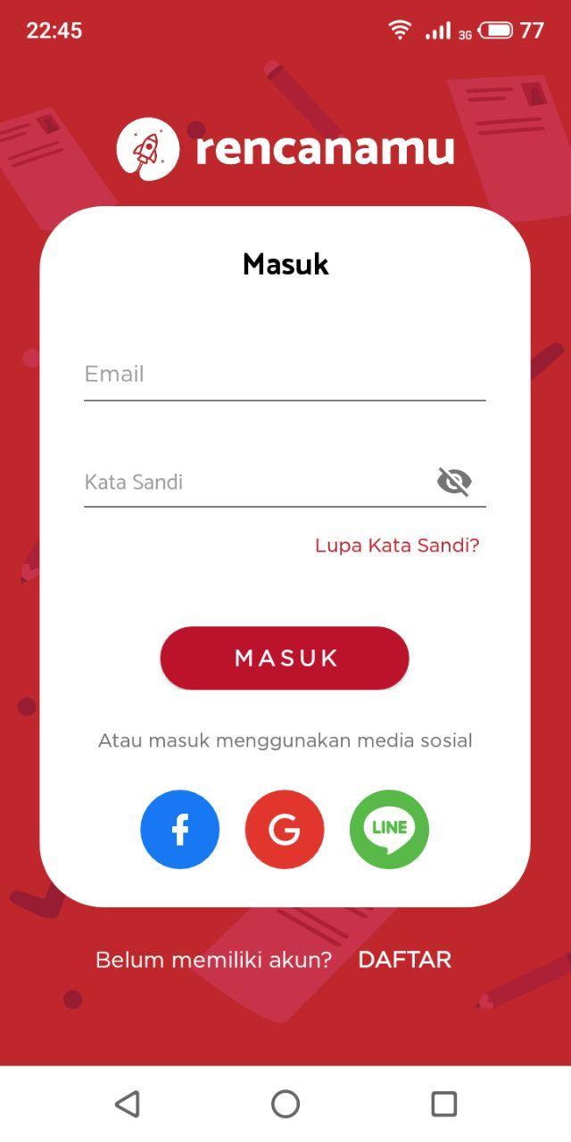 Rencanamu - screenshot 0