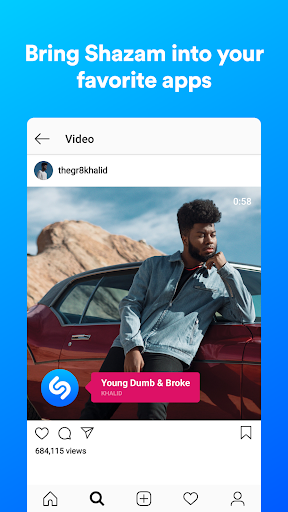 Shazam: Discover songs & lyrics in seconds - Ảnh chụp màn hình 4