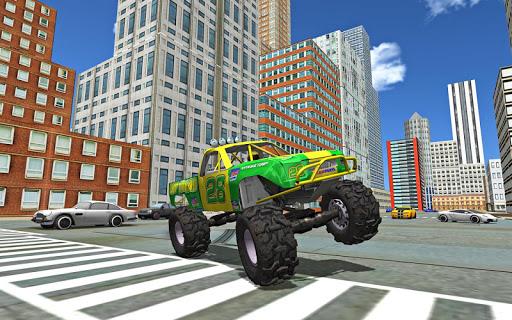 Monster Truck Stunts Driving Simulator - captura de ecrã 5