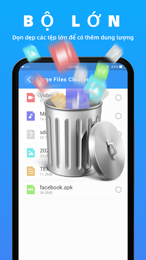 Dọn dẹp nhanh hơn - Tệp rác dọn dẹp và tăng tốc độ - Ảnh chụp màn hình 4