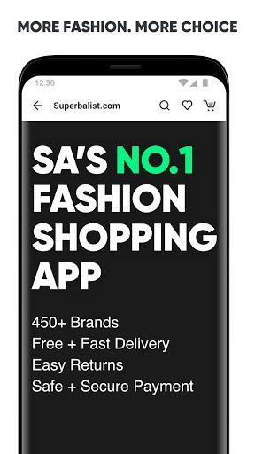 Superbalist.com   The No.1 Online Shopping App - Ảnh chụp màn hình 0