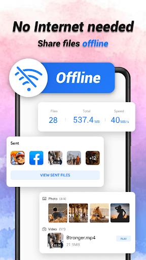 SHAREit Lite - Share & File Transfer App, Share it - Ảnh chụp màn hình 2