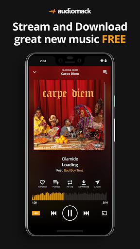Audiomack: Download New Music Offline Free - Ảnh chụp màn hình 0