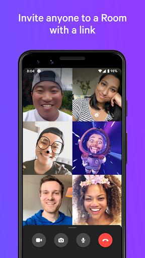 Messenger — mensagem e ligações de vídeo gratuitas - captura de ecrã 3