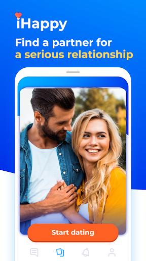 Dating with singles nearby - iHappy - Ảnh chụp màn hình 2