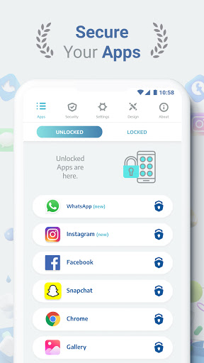 AppLock Pro - App Lock & Privacy Guard for Apps - Ảnh chụp màn hình 0