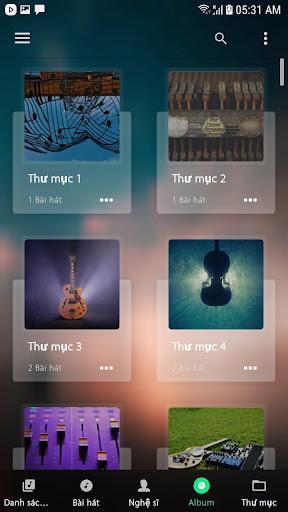 Music Player - Máy nghe nhạc - Ảnh chụp màn hình 3