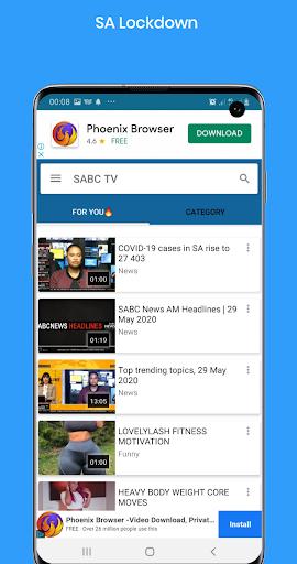 Free SABC Online - Ảnh chụp màn hình 3