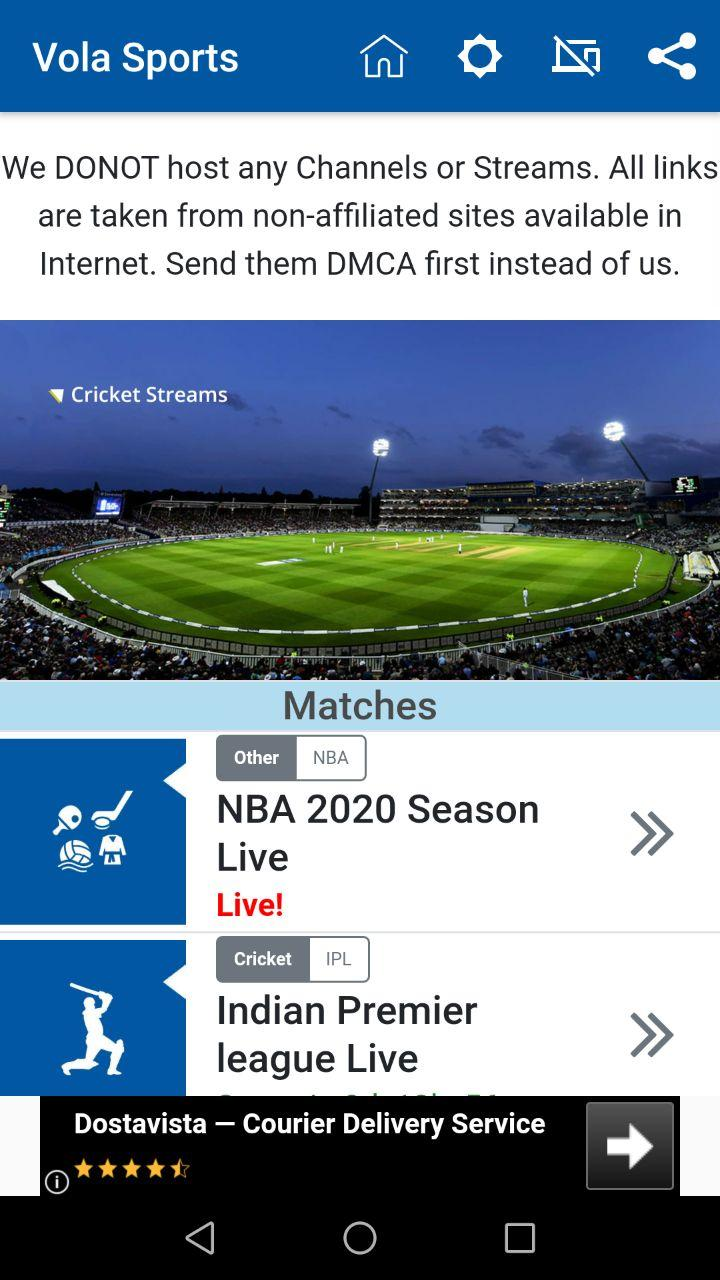 Vola Sports - screenshot 0