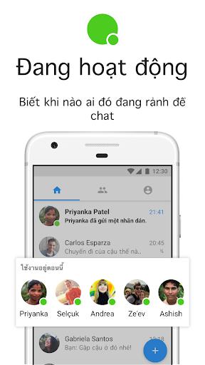 Messenger Lite: Nhắn tin & Gọi điện miễn phí - Ảnh chụp màn hình 5