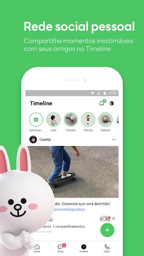 LINE:Chamadas&Mensagens Grátis - captura de ecrã 4