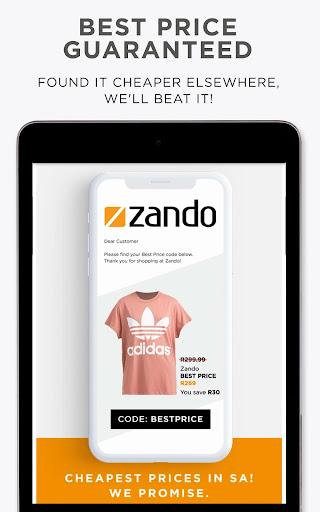 Online Shopping - Fashion - Zando.co.za - Ảnh chụp màn hình 4