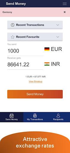 Money2India Europe - screenshot 3