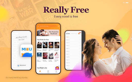 MiduNovel - All Free Novels & Good Stories - Ảnh chụp màn hình 9