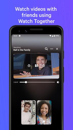 Messenger — mensagem e ligações de vídeo gratuitas - captura de ecrã 2