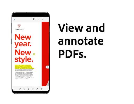 Adobe Acrobat Reader: PDF Viewer, Editor & Creator - Ảnh chụp màn hình 2