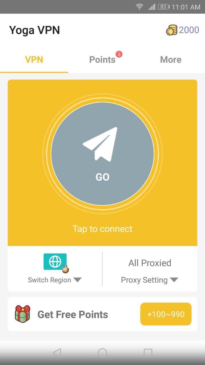 Yoga VPN - screenshot 0