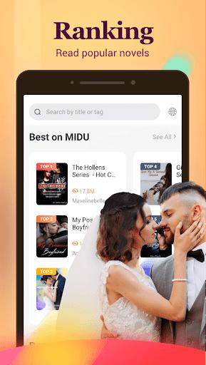 MiduNovel - All Free Novels & Good Stories - Ảnh chụp màn hình 2