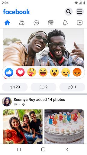 Facebook Lite - captura de ecrã 1