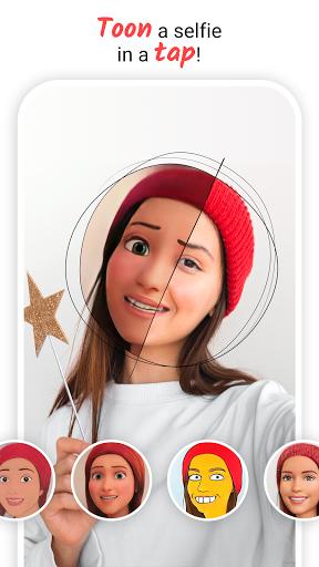 ToonMe - Cartoon yourself photo editor - Ảnh chụp màn hình 1