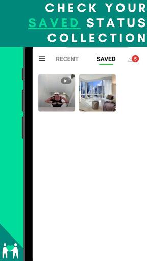 Status Saver - Trạng thái tải xuống cho Whatsapp - Ảnh chụp màn hình 1