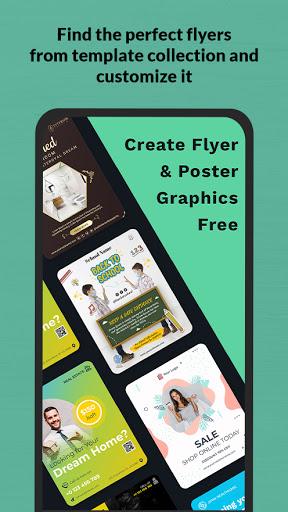 Flyers, Poster Maker, Banner Maker, Graphic Design - screenshot 2